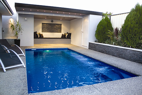 The Empire 6m x 3m award-winning fibreglass swimming pool