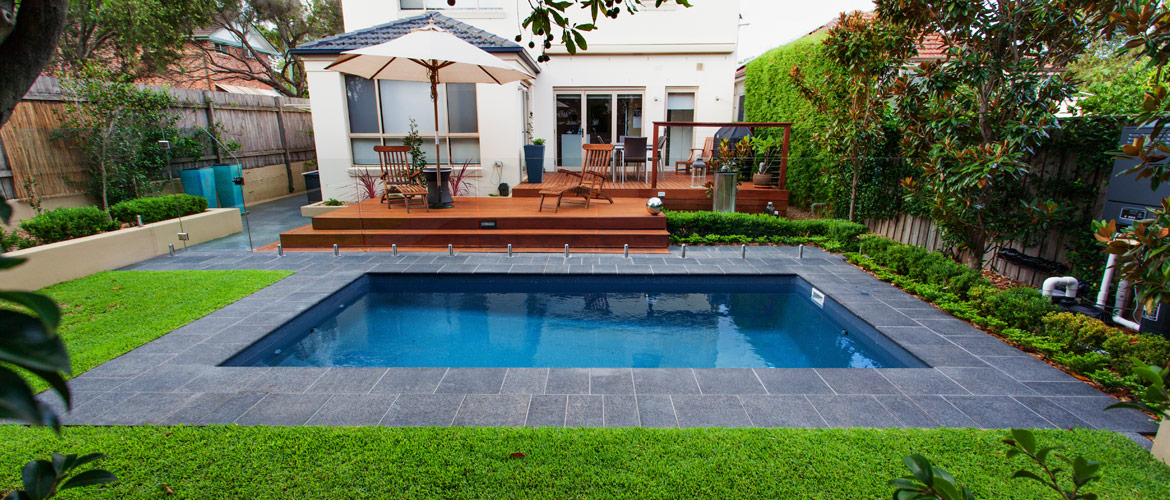 Sovereign fibreglass swimming pool sapphire pools for Pool design ideas australia