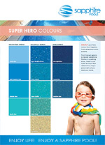 Sapphire Pools Colour Selection Guide