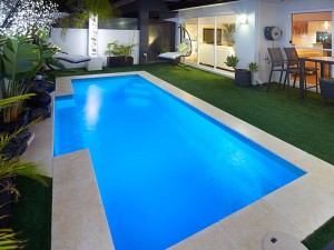 Princeton Fibreglass Swimming Pool Sapphire Pools