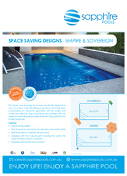 Our Popular Small Pool Designs – Sovereign, Empire & Oxford
