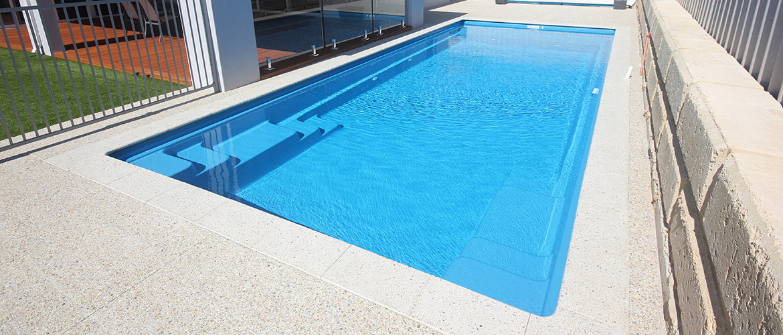 Dynasty Fibreglass Swimming Pool Sapphire Pools