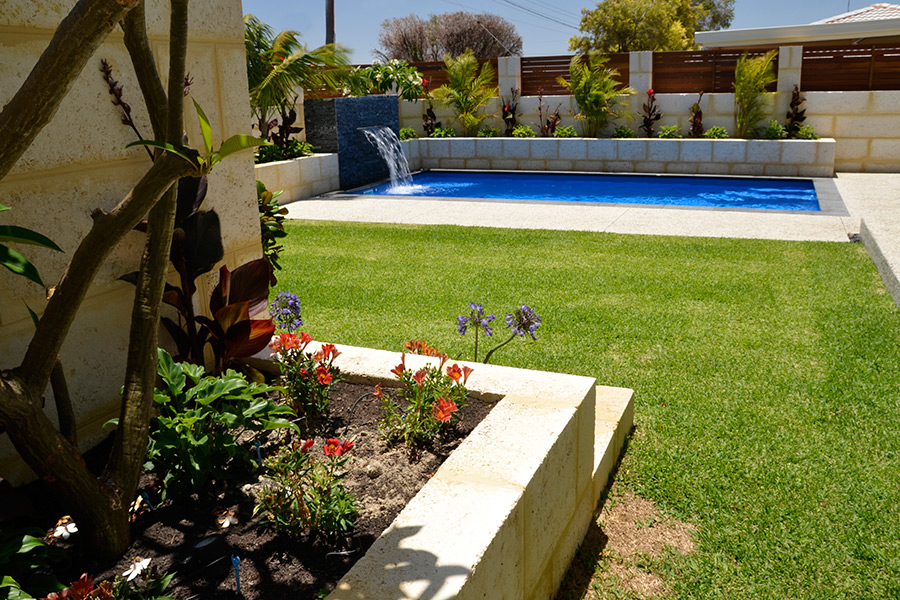 With quality landscaping and a well-chosen water feature your backyard will become a sanctuary