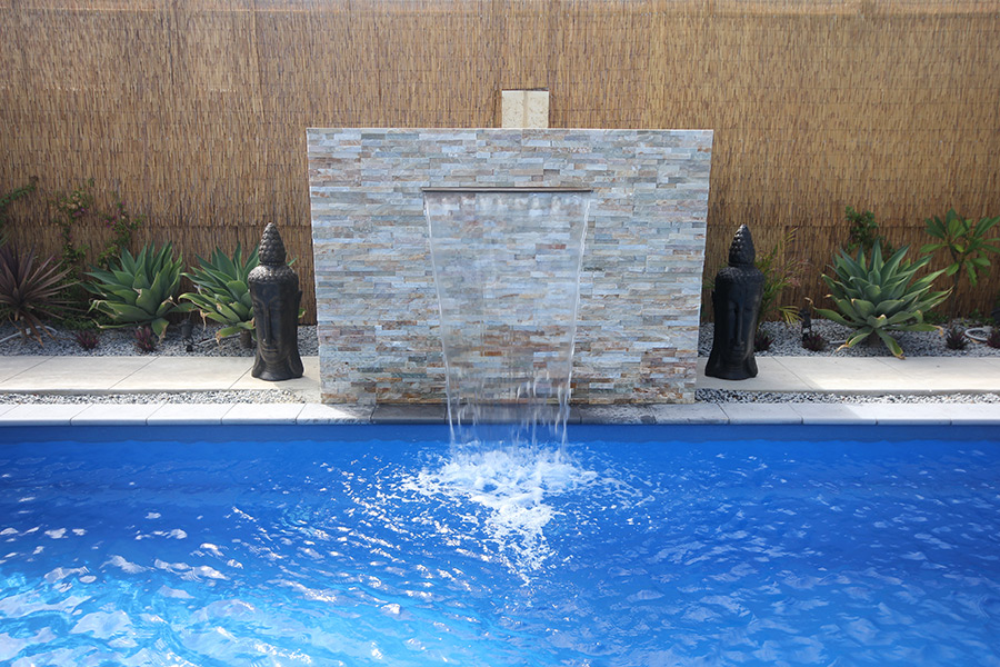 A great water feature can round out a well-designed backyard