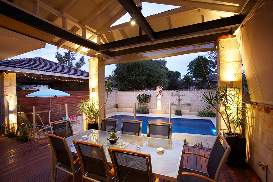 A well-thought out backyard will make sure you spend lots of time enjoying it