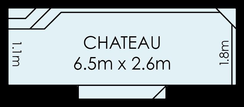 Chateau Fibreglass Swimming Pool
