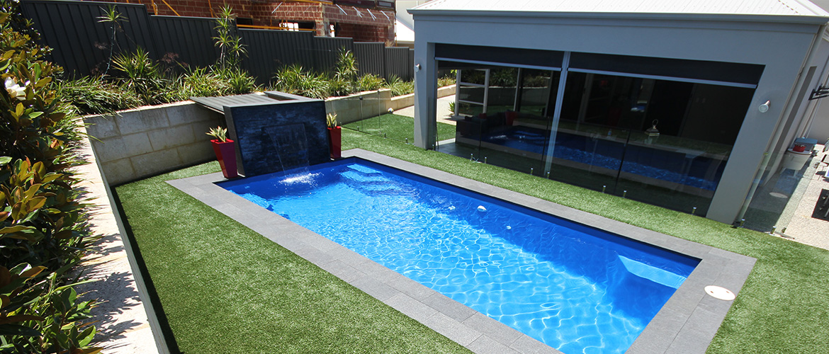 """Conquest"" Medium Fibreglass Pool Design"
