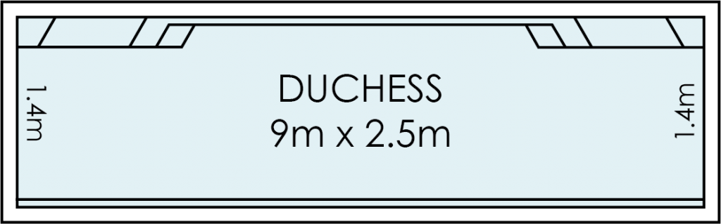 Duchess Fibreglass Swimming Pool
