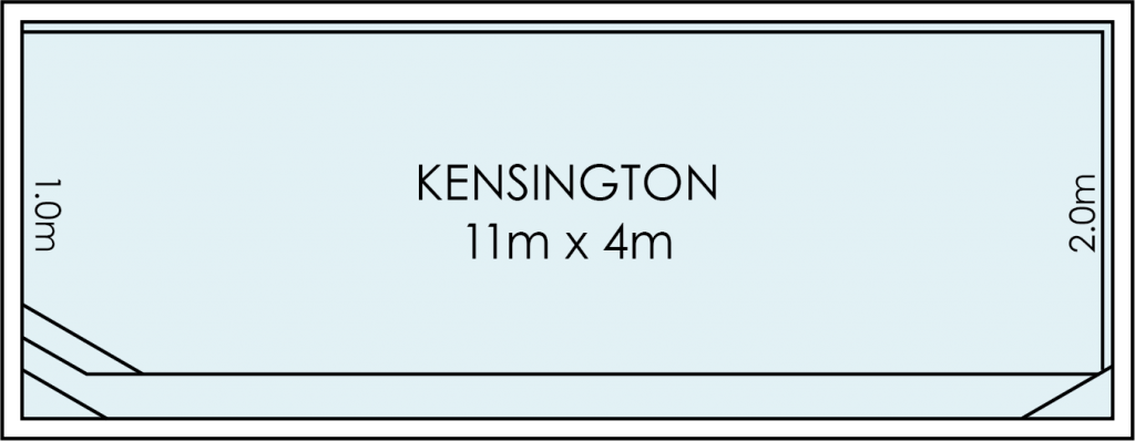 Kensington Fibreglass Swimming Pool