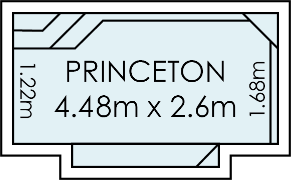 Princeton Fibreglass Swimming Pool