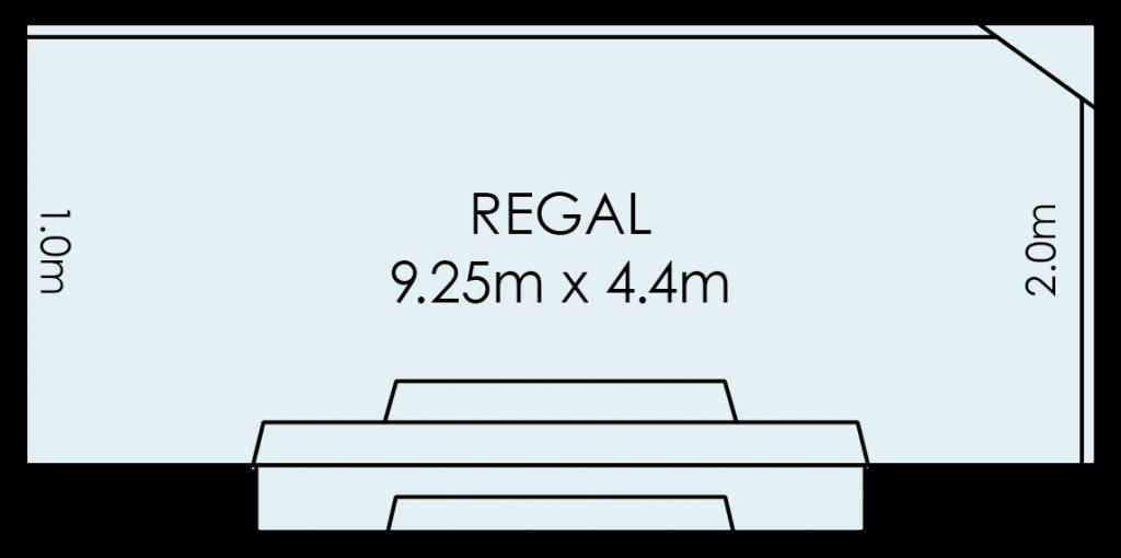 Regal Fibreglass Swimming Pool