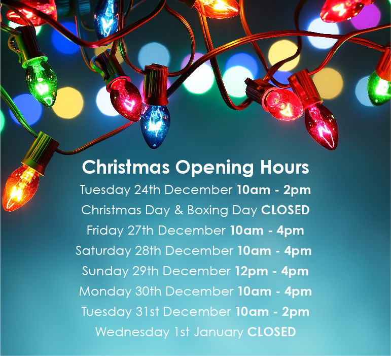 Christmas Opening Hours - Sapphire Pools