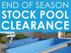 HUGE End of Season Stock Pool Clearance Sale