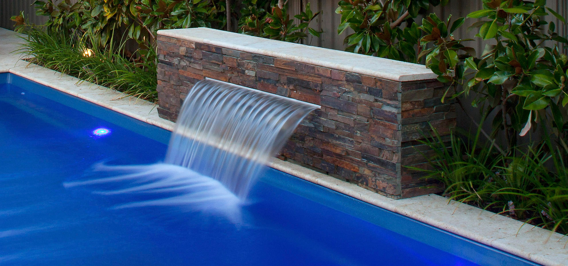 Free Water Feature Sapphire Pools