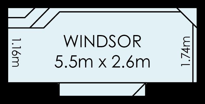 Windsor Fibreglass Swimming Pool