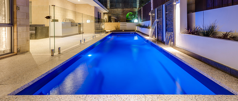 """Duke"" Fibreglass Pool Design in Perth | Sapphire Pools"