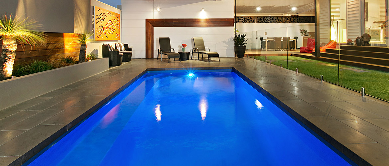 """Empire"" small inground fibreglass swimming pool design"
