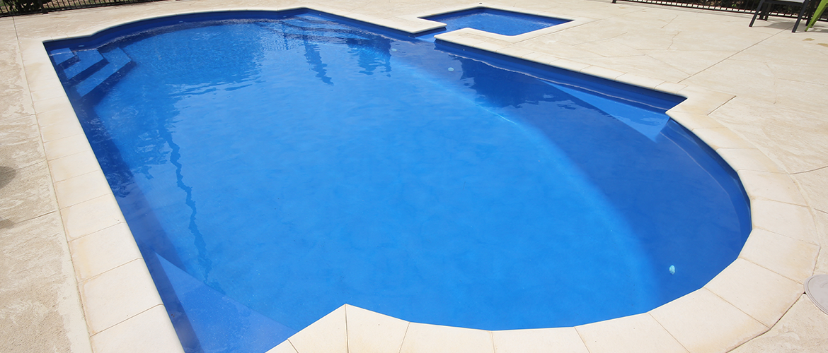 """Flamingo"" Medium Fibreglass Pool Design in Perth"