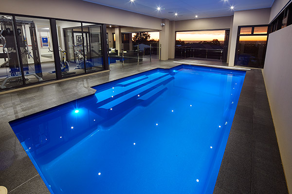 Superbe Stunning Indoor Swimming Pool