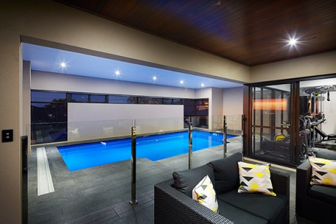 Installed Indoor Swimming Pool