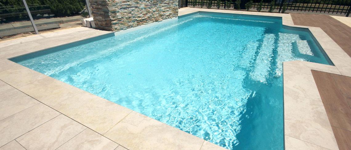 Imperial Fibreglass Swimming Pool 7m X 4m Sapphire Pools