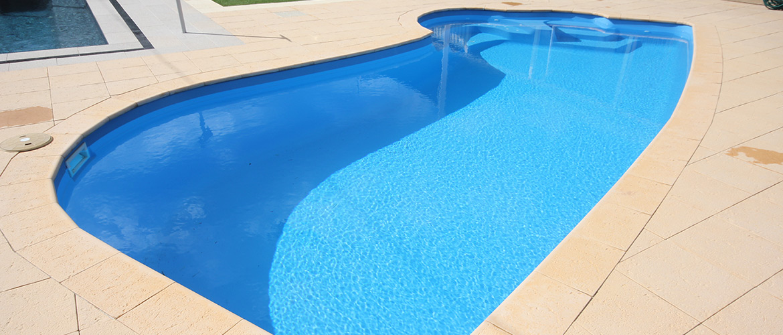 """Junior Hawaiian"" medium fibreglass swimming pool design"