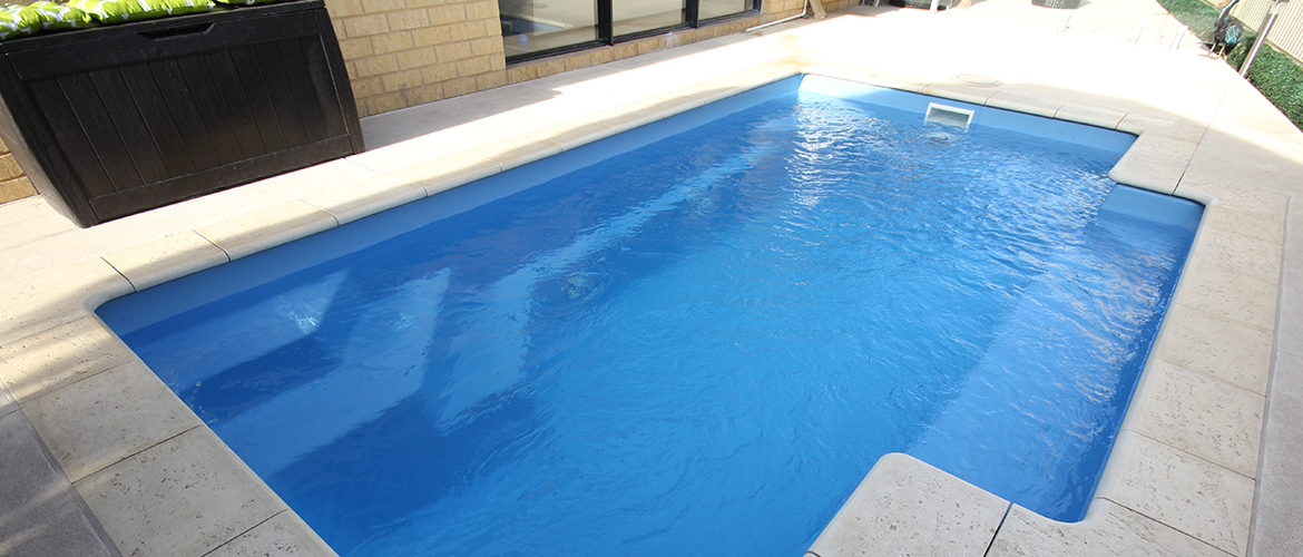 """Princeton"" Small Fibreglass Pool Design"
