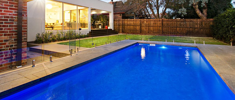 """""""Provincial"""" medium inground fibreglass swimming pool design"""