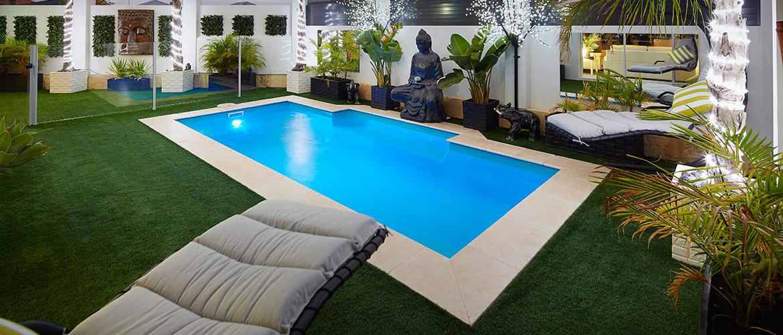 """""""Windsor"""" Small Fibreglass Pool Design"""