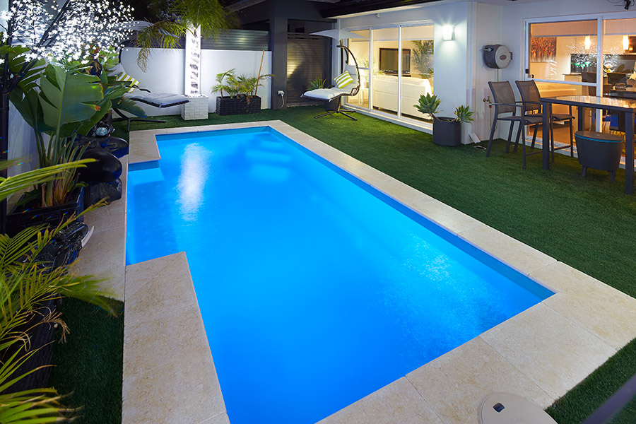 """Windsor"" Small Fibreglass Pool Design"